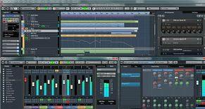 Simple home recording studio equipment 3