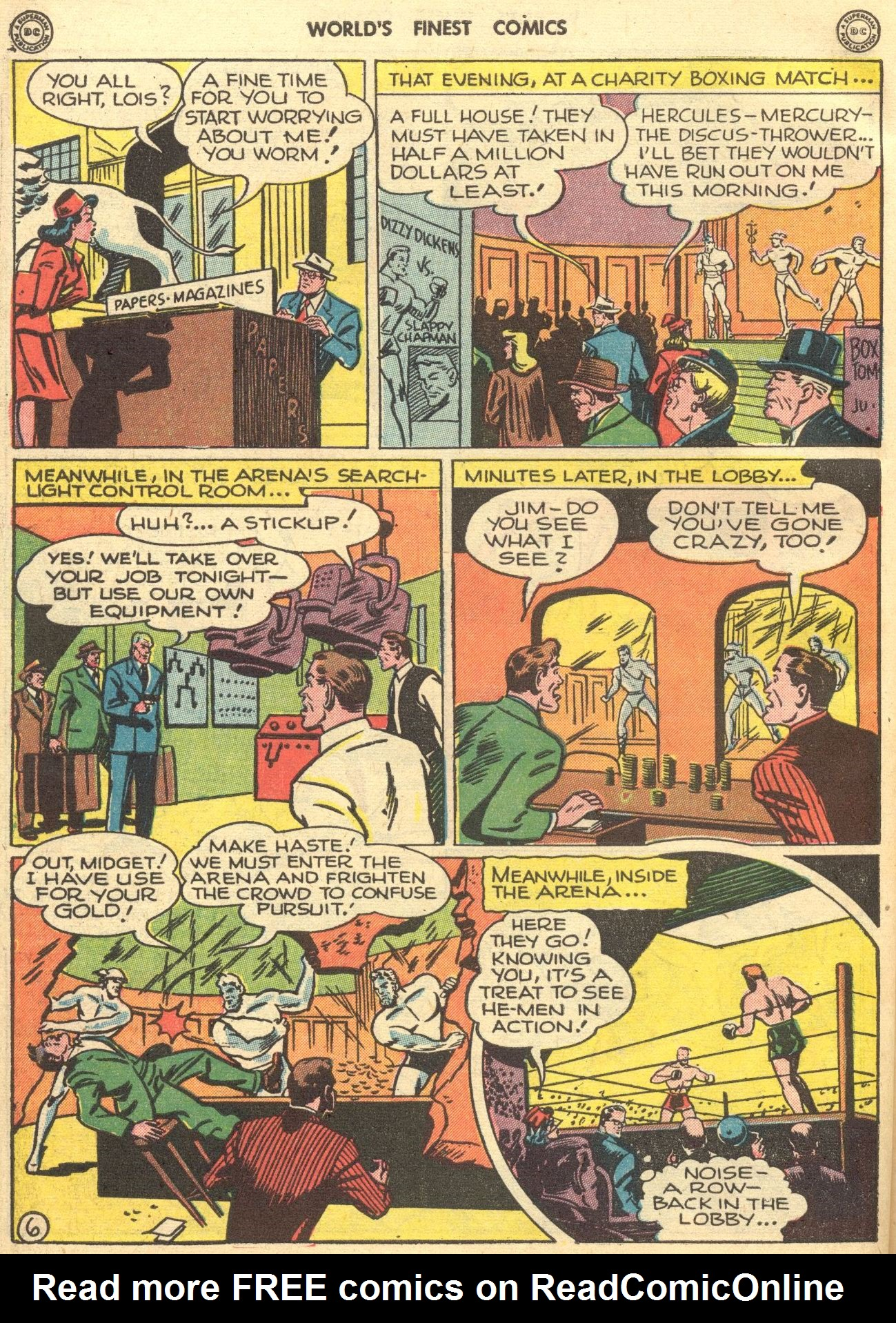 Read online World's Finest Comics comic -  Issue #28 - 7