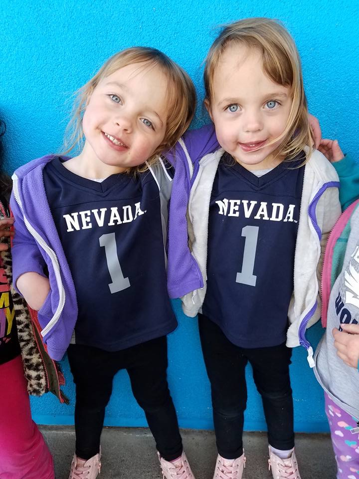 Nevada Wolf Pack twins