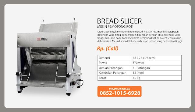 Jual Bread Slicer Murah (Mesin Pemotong Roti)