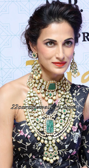 Shilpa Reddy Heavy Jewellery