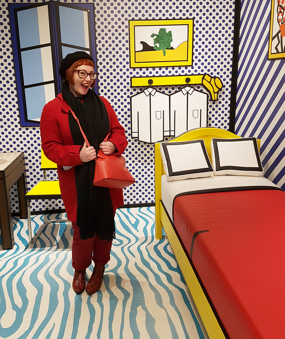 Colourful pop art Roy Lichtenstein exhibition at Amsterdam's Moco Museum