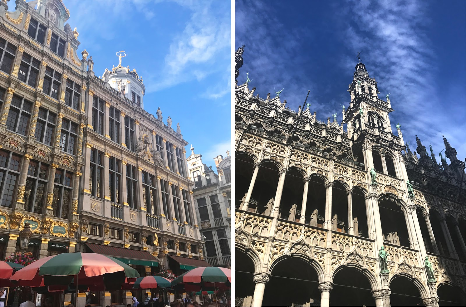 Brussels Square, Golden Buildings
