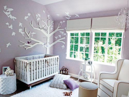 Bebek odası dekorasyonu 3