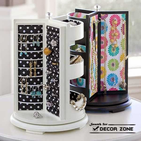 Idees And Solutions: 20 Original Jewelry Storage Ideas And Solutions