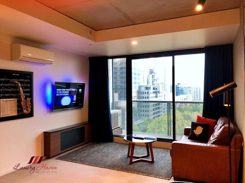 jazz corner hotel review private balcony