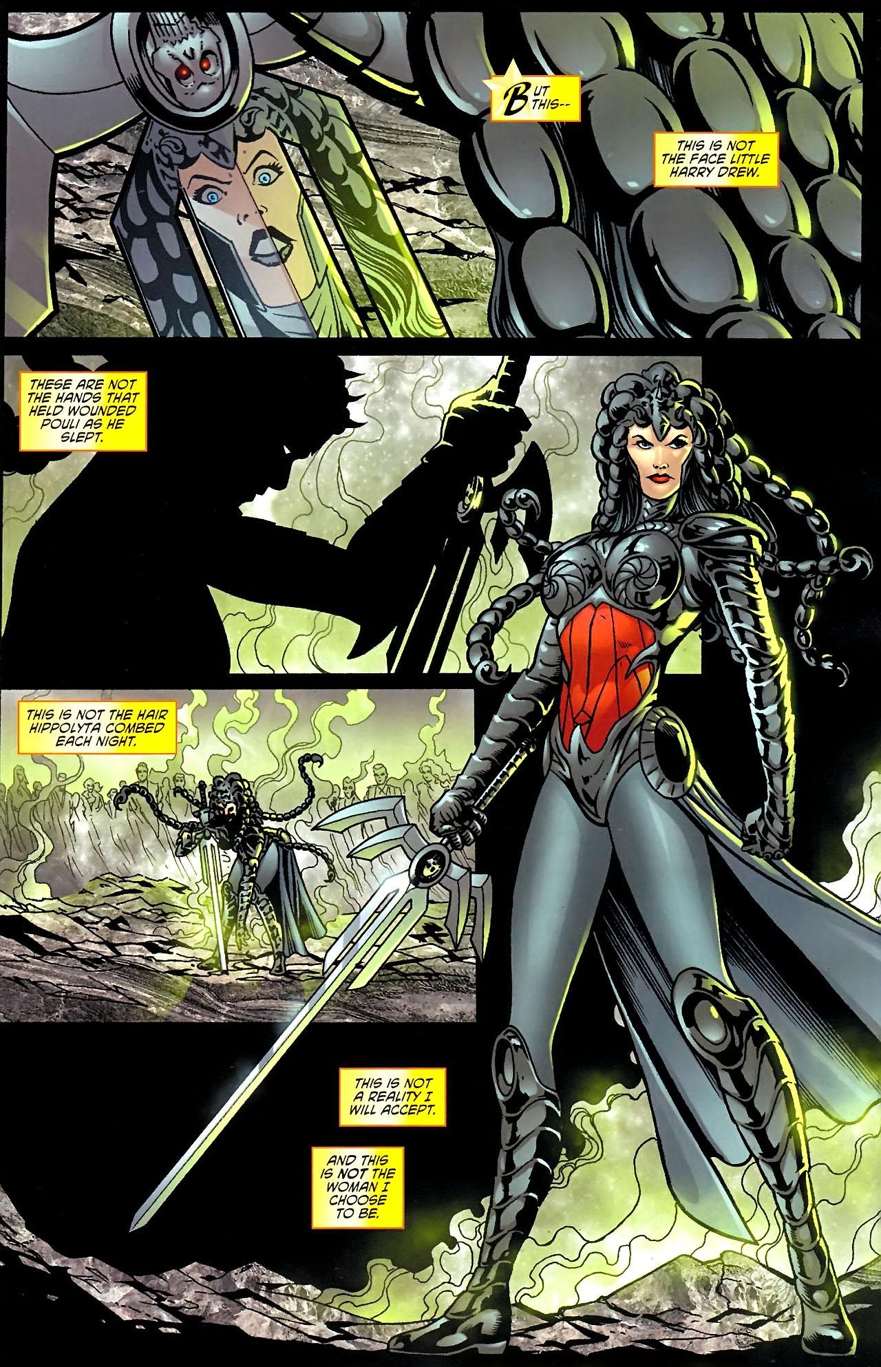 Read online Wonder Woman (2006) comic -  Issue #614 - 11