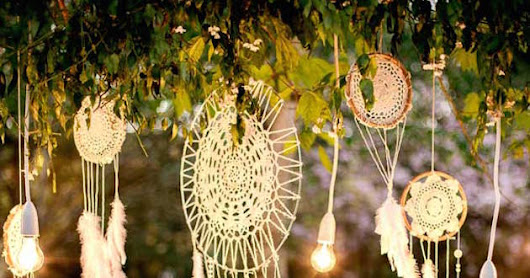 Decora tu boda con atrapasueños by Exclusive Weddings