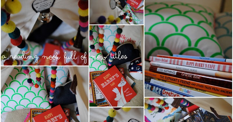 thirteenredshoes: a reading nook full of new titles
