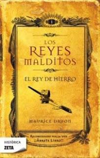 """""""El rey de hierro"""" de Maurice Druon"""