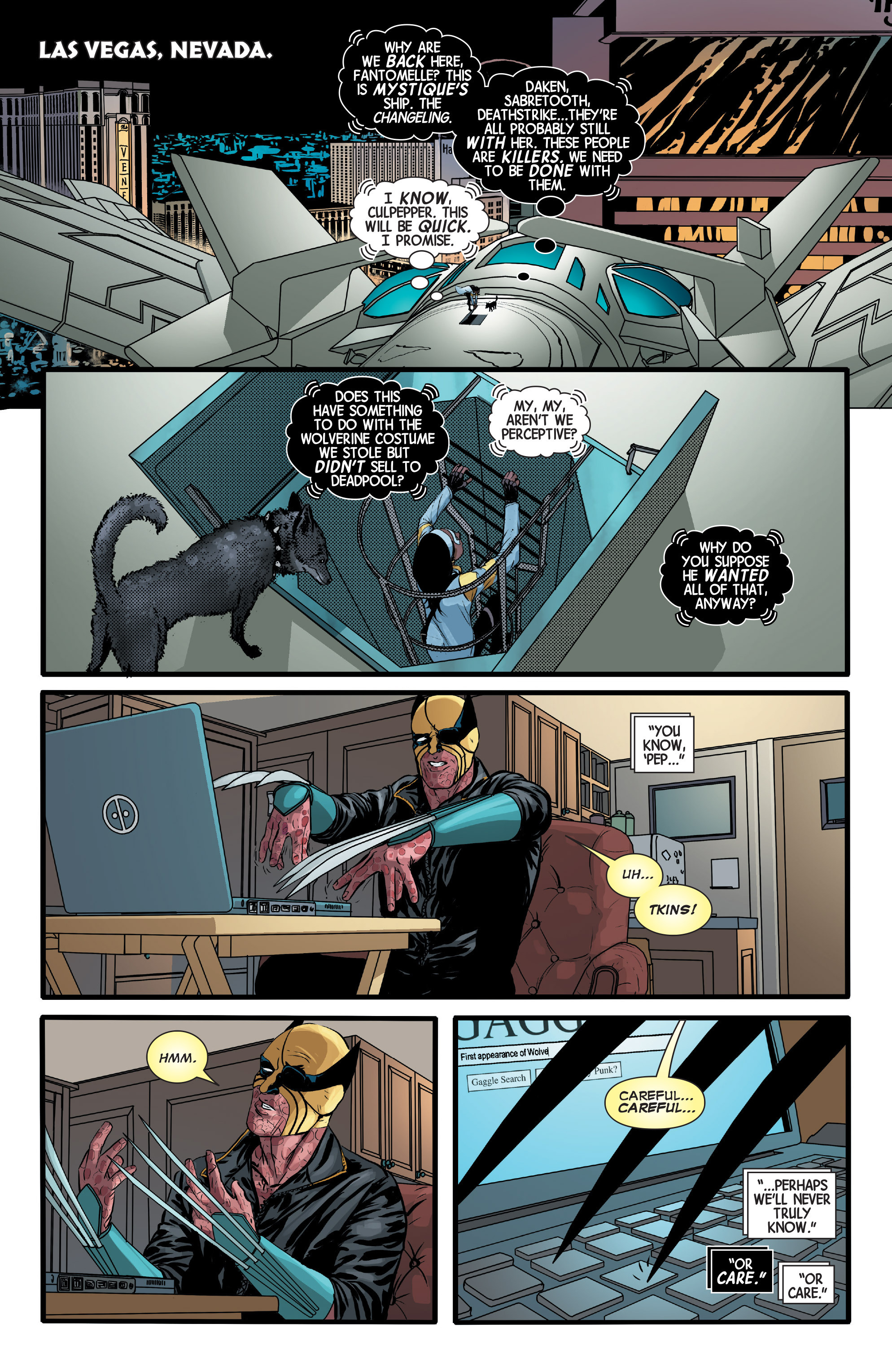 Read online Wolverines comic -  Issue #13 - 5