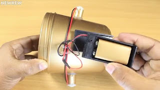 membuat sendiri mesin pengaduk cat air sederhana