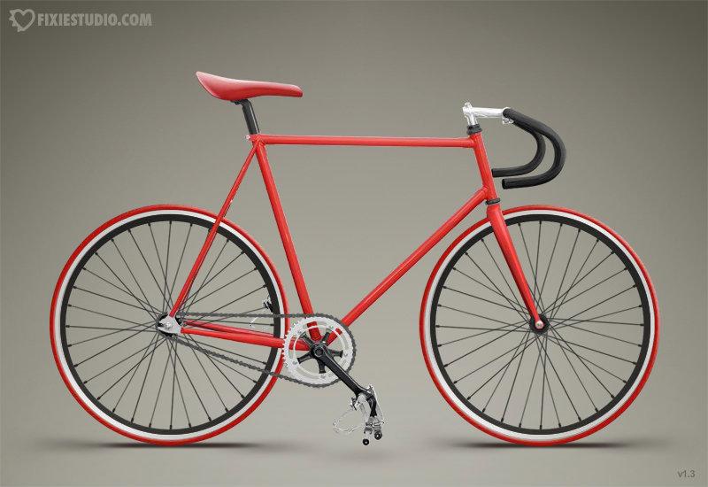T H E B L A C K S A H A B A T: Basikal Fixie (Fixie Bike