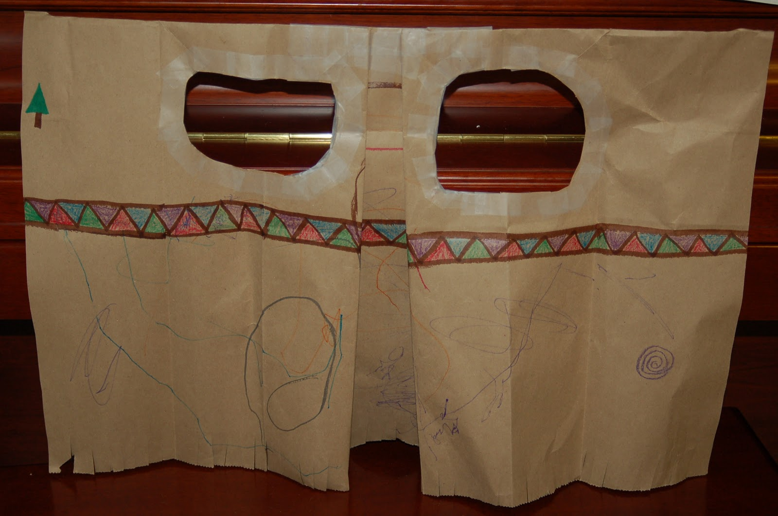 How To Make An Indian Costume With A Paper Bag