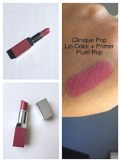 Clinique Pop Lip Colour + Primer in plum pop Review and swatch