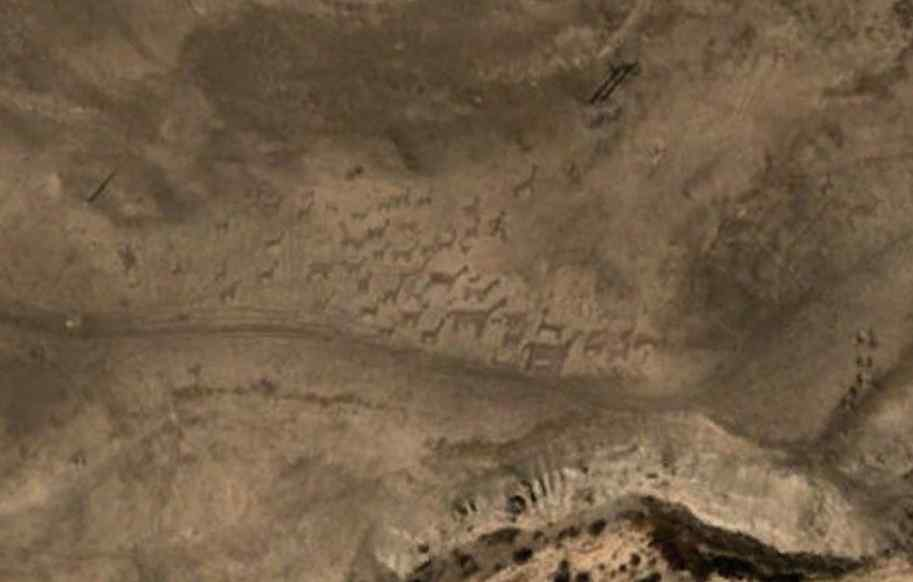 Tempat Misterius Geoglif Tiliviche