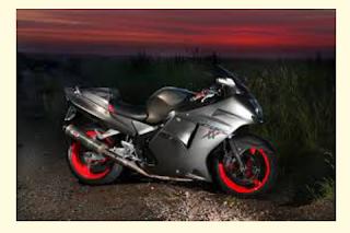 Gambar motor Honda blackbird