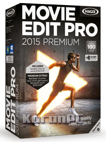 MAGIX Movie Edit Pro 2015 Premium 14.0.0.166
