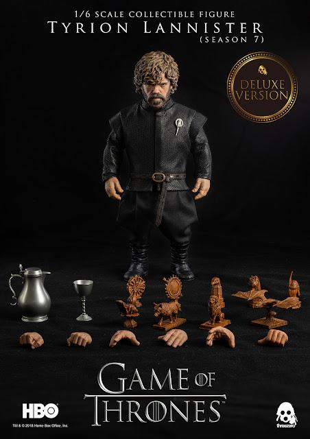 Tyrion Lannister 1/6 de A Game of Thrones - Threezero