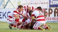 Η αποστολή των παικτών του Πλατανιά για το αυριανό ματς με τον Ολυμπιακό