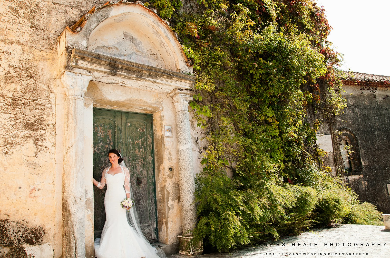 Bride in Ravello