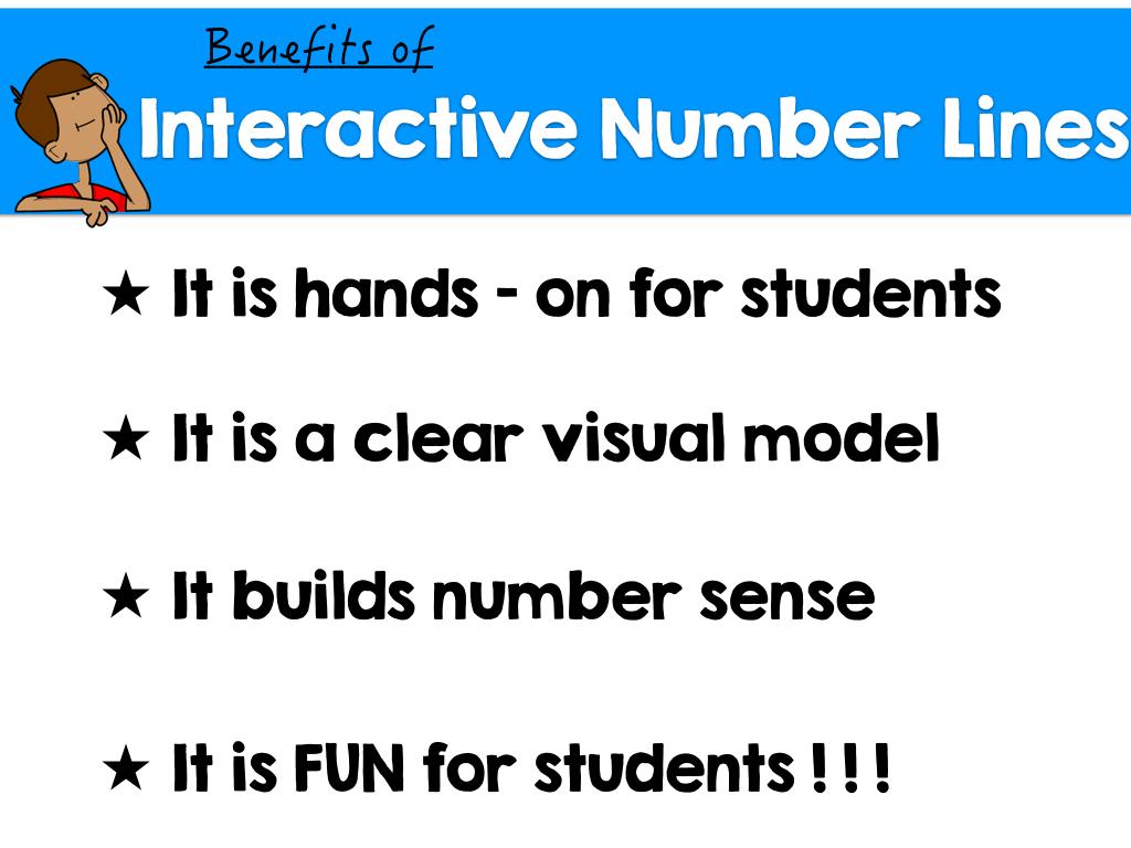 Interactive Number Lines A Number Sense Builder