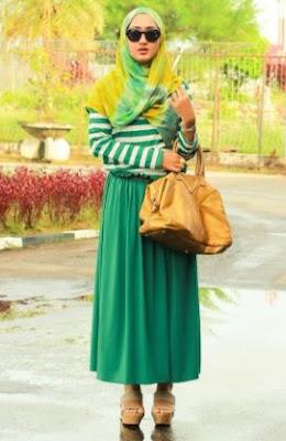 Baju muslim untuk kondangan pernikahan