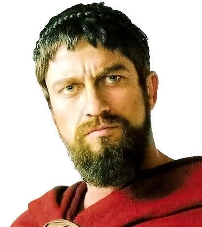 gerard butler 300 beard - photo #7