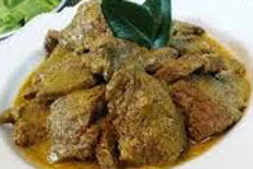 Resep praktis (mudah) bacah daging spesial (istimewa) khas riau enak, sedap, gurih, nikmat lezat