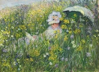 Claude Monet Dans la Prairie. 1876