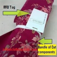 RFID tag for data capturing