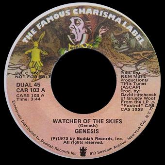 Reading between the Grooves: Genesis: Watcher of the Skies