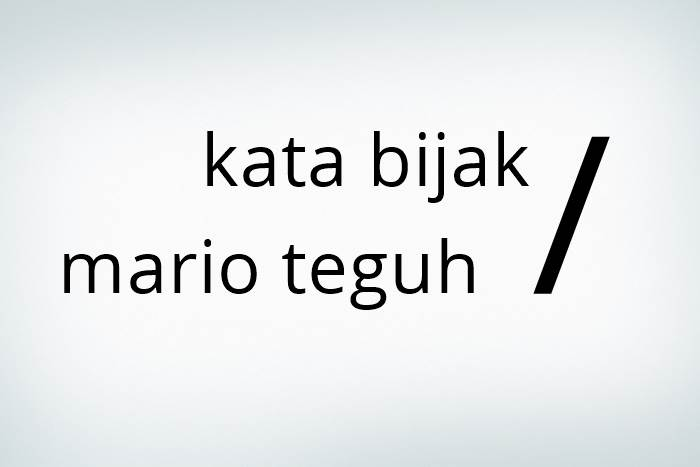 Kata Bijak Mario Teguh