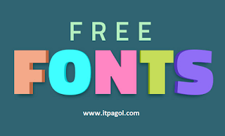 Free download Bangla & English Fonts