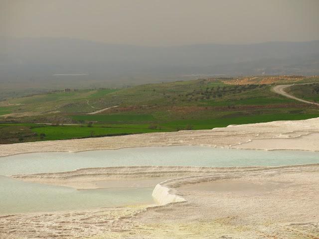 Pamukkale i Turkiet