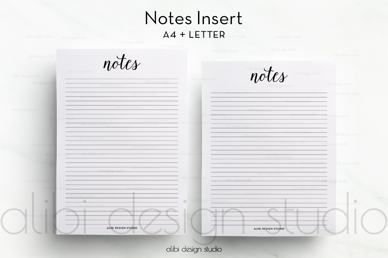 photo regarding Printable Freebie identify Freebie Totally free A4 and Letter Notes Printable Alibi Structure