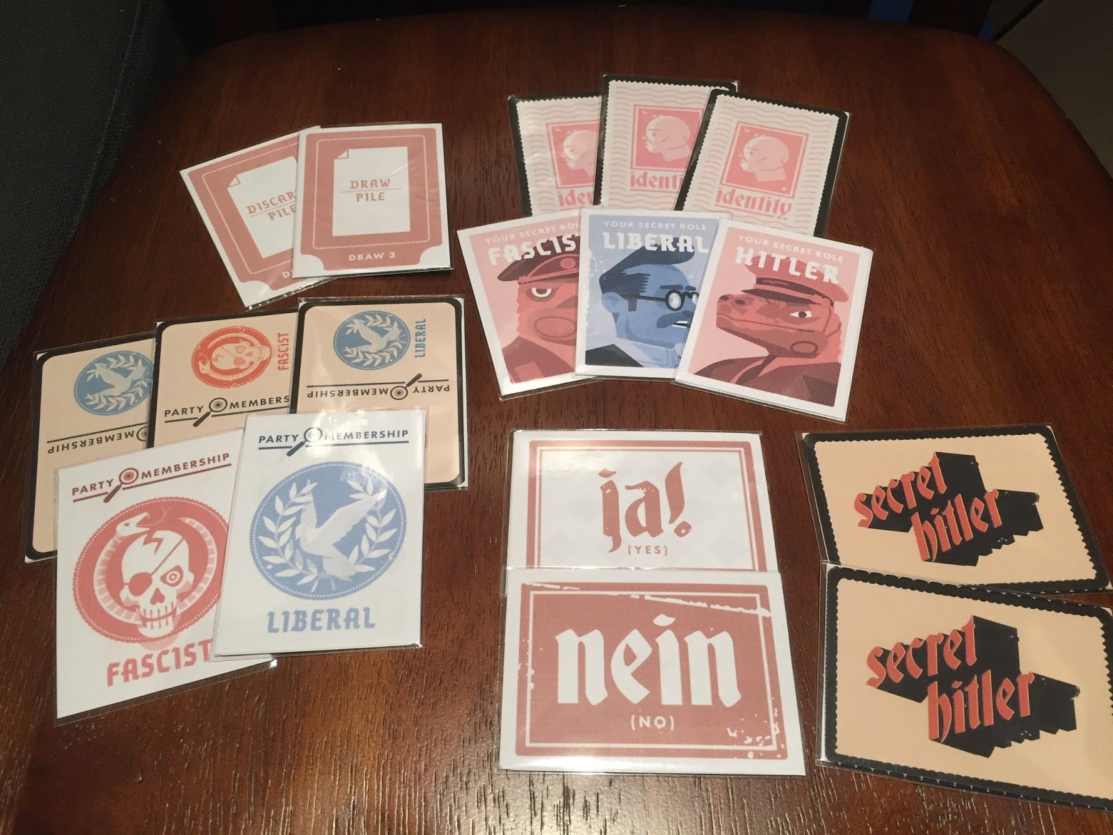 photo about Secret Hitler Printable identify Mystery Hitler [Print Perform] - Giochi sul Nostro Tavolo