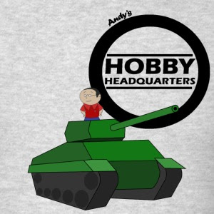 Andy's Hobby Headquarters T-shirts now available worldwide