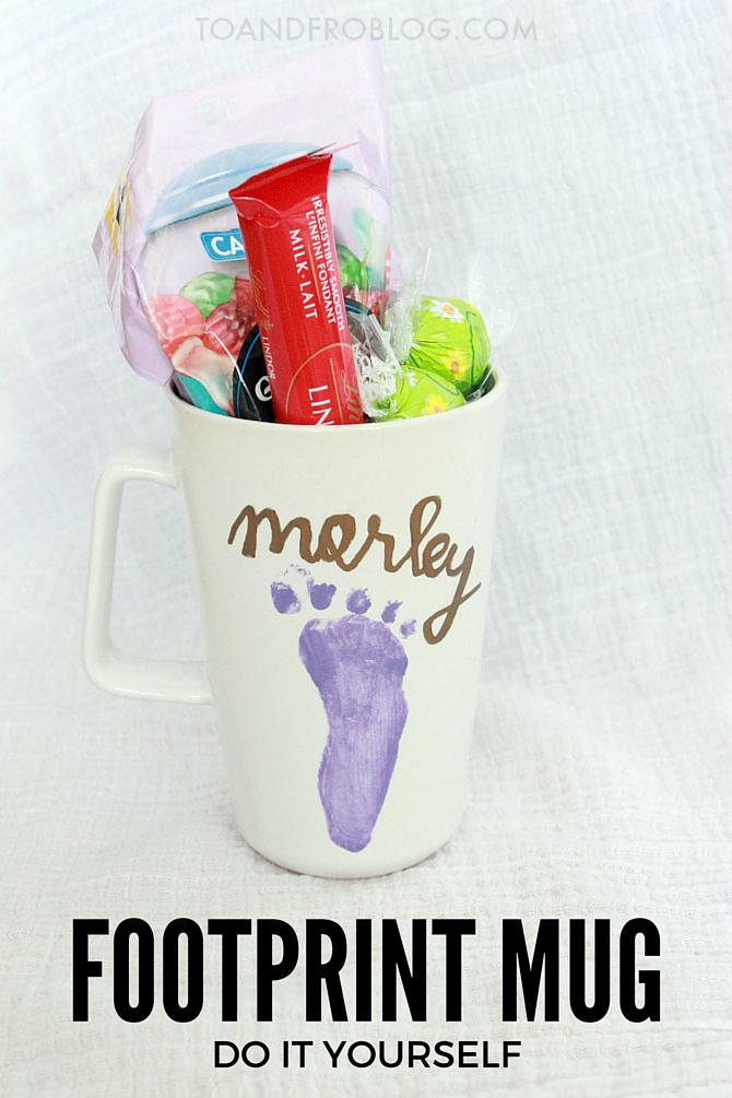 footprint mug diy