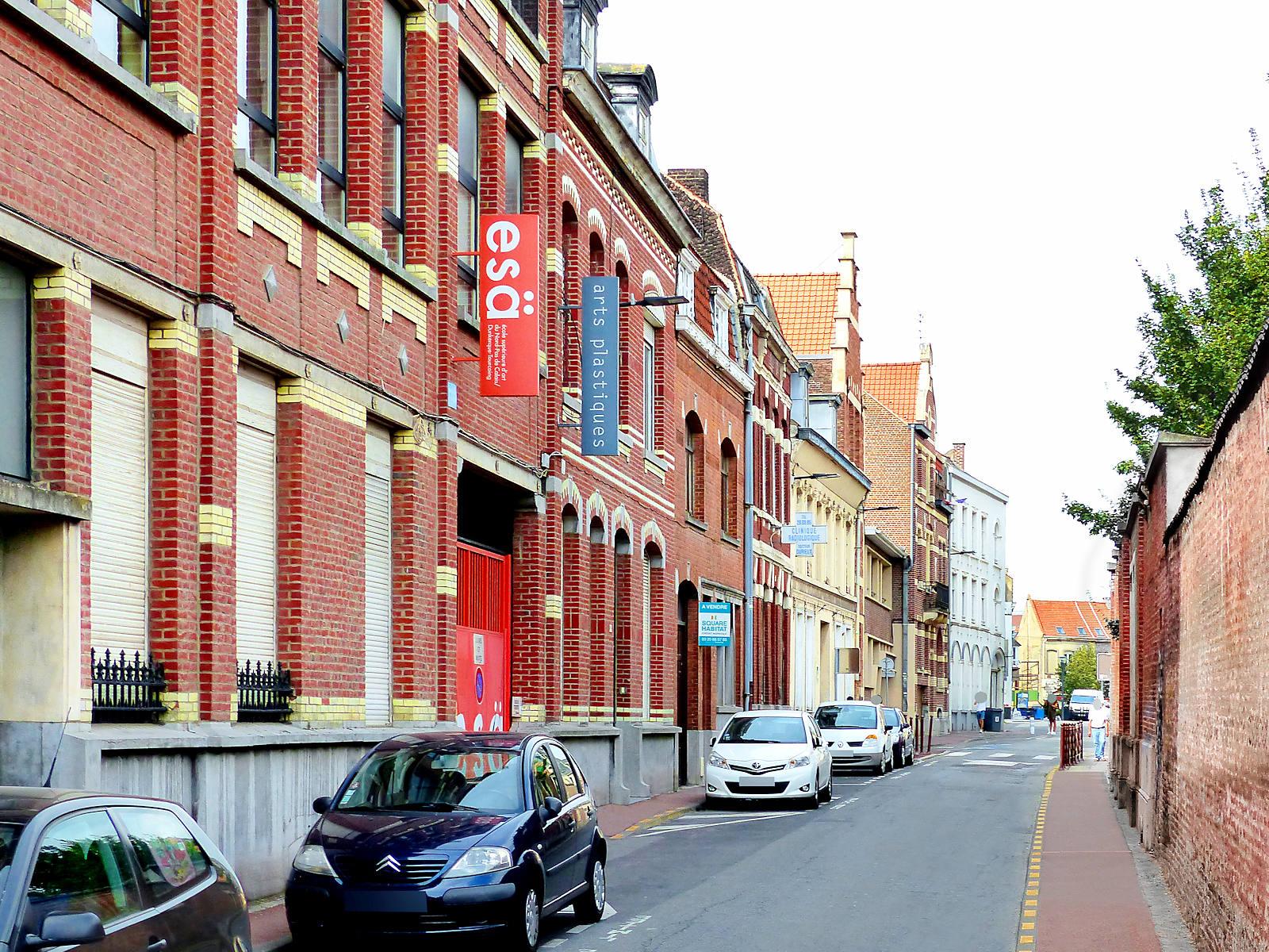 ESA école supérieure d'arts - Tourcoing, Rue des Ursulines