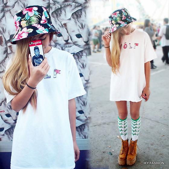 Model Topi Wanita Bucket Hats Kekinian