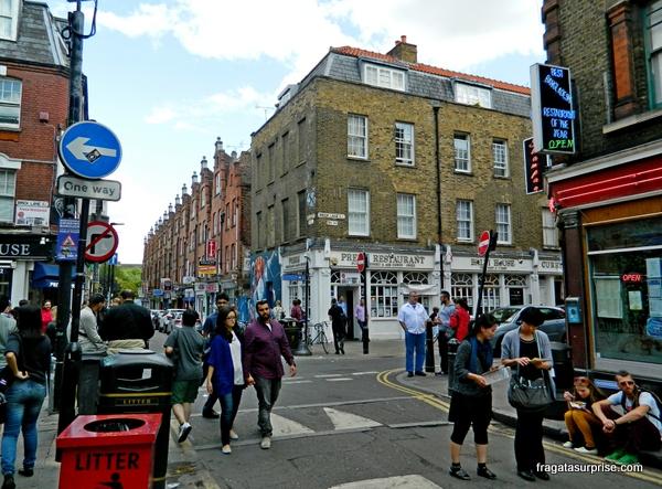 Londres - Mercado de Brick Lane