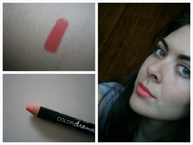 Maybelline ColorDrama #420 In with coral