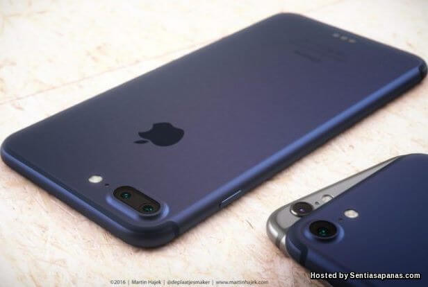 Rekabentuk dan Saiz Apple iPhone 7