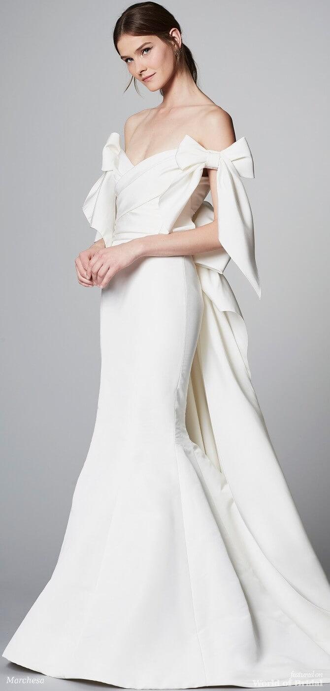 166f54541ed Marchesa Spring 2018 Wedding Dresses - World of Bridal