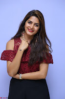 Pavani Gangireddy in Cute Black Skirt Maroon Top at 9 Movie Teaser Launch 5th May 2017  Exclusive 053.JPG
