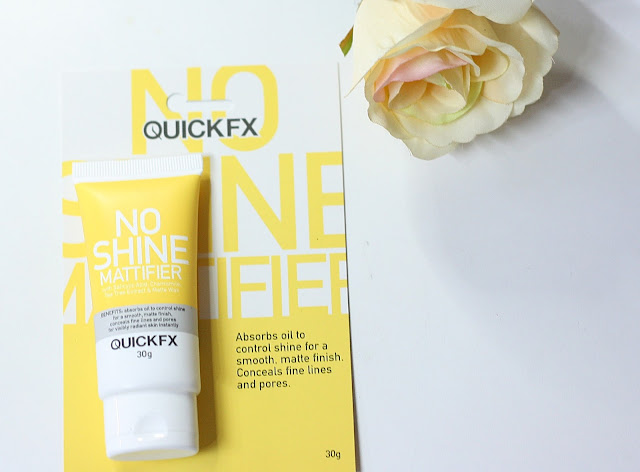 a photo of QuickFX Pimple ERaser, No-Shine Mattifier, Tinted Moisturizer, Eyelift Cream and Sunscreen review