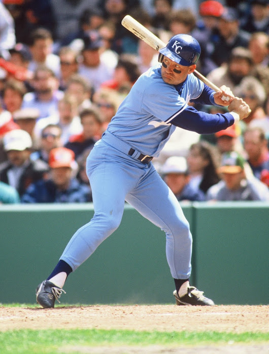 Kansas City Royals' George Brett Collects Career Hit 1,500