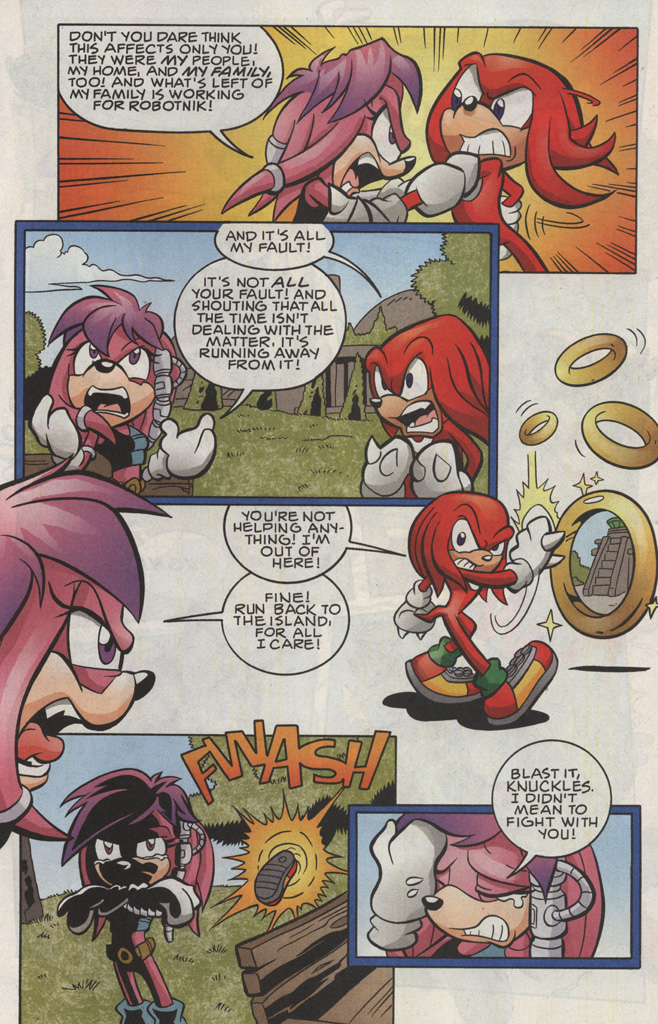 Read online Sonic The Hedgehog comic -  Issue #191 - 11