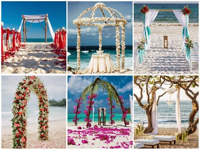 Decoração para Casamentos na Praia
